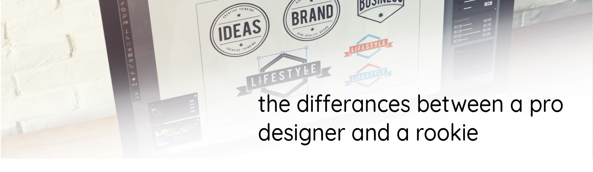 The Differences between a Pro Designer and a Rookie